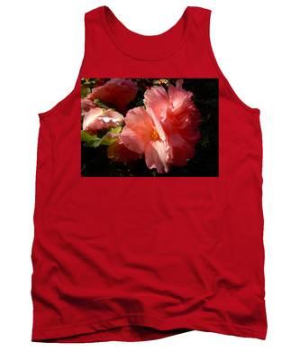 Splash Of Begonia Tank Top