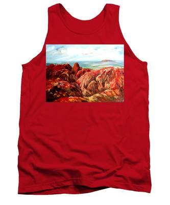 Uluru Viewed From Kata Tjuta Tank Top