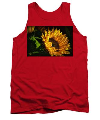 Warmth Of The Sunflower Tank Top