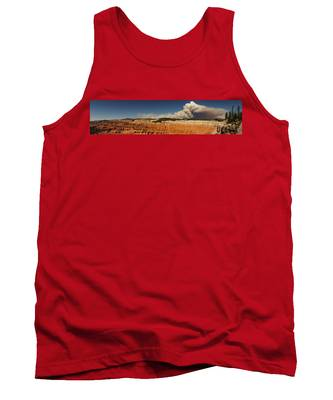 Wildfire Cedar Breaks National Monument Utah Tank Top