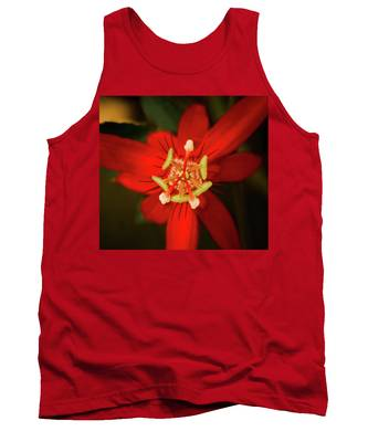 Crimson Beauty Tank Top