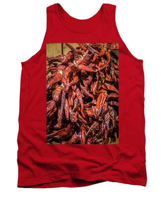 Hot Spicy Peppers Tank Top