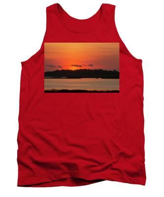 Sunrise Over Drunken Jack Island Tank Top