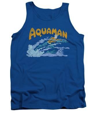 Aqua Tank Tops