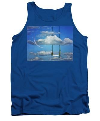 Playing In The Clouds Tank Top