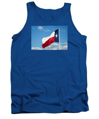 State Flag Of Texas Tank Top
