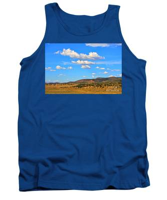 Cloudy Wyoming Sky Tank Top