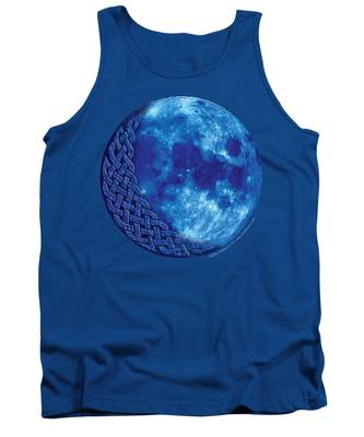 Celtic Blue Moon Tank Top