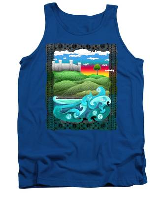 Celtic Castle Tor Tank Top