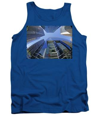 Tank Top featuring the photograph Fitch Ratings Manhattan Nyc by Juergen Held