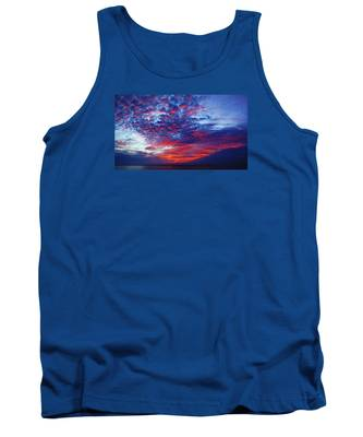 Hand Of God At Sunrise Tank Top