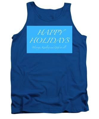 Happy Holidays - Day 5 Tank Top