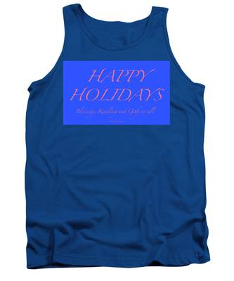 Happy Holidays - Day 7 Tank Top