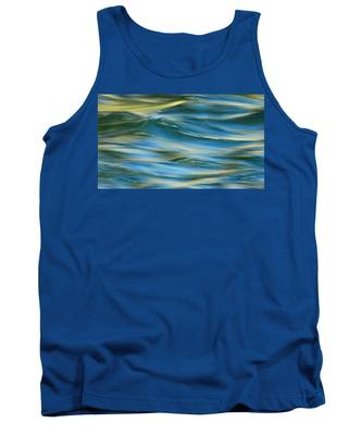 Sunlight Over The River Tank Top