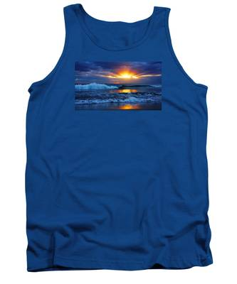 Sunrise Light Wave  Tank Top