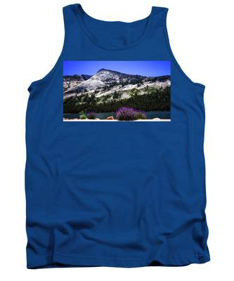 Tanaya Lake Wildflowers Yosemite Tank Top