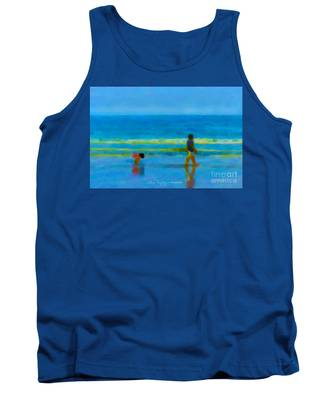 Beach Blues Tank Top