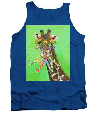 Party Safari Giraffe Tank Top