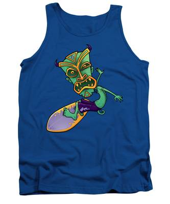 Surfing Tank Tops