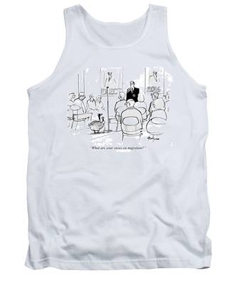 What Are Your Views On Migration Tank Top