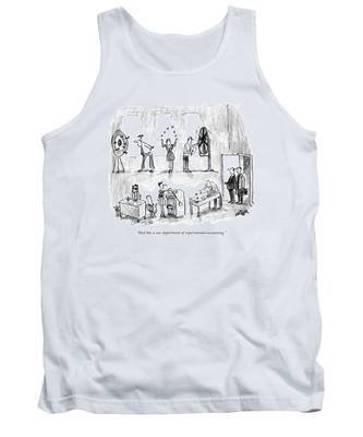 And This Is Our Department Of Experimental Tank Top