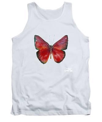 16 Mesene Rubella Butterfly Tank Top