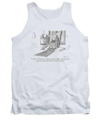 I Want To Be Feared As A Tyrant Tank Top