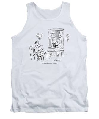 Hi! I'm The Bluebird Of Death Tank Top