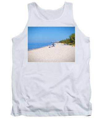 A Day At Naples Beach Tank Top