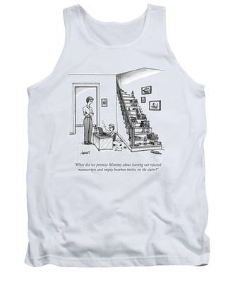 A Mother Speaks To Her Son Tank Top