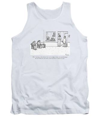 A Nurse And An Anesthesiologist With A Gas Tank Tank Top