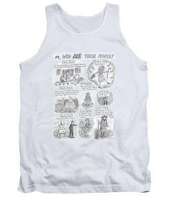 Captionless Who Are These People? Tank Top