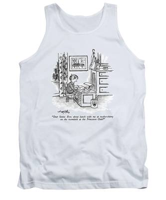 Dear Santa: How About Lunch Tank Top