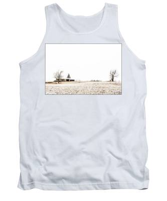 Ethereal Wintry Scene Tank Top