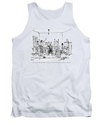 From The Top - 'watermelon Man.'  Let's Sock Tank Top