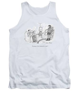 I'm Going To New Zealand For A Walk Tank Top