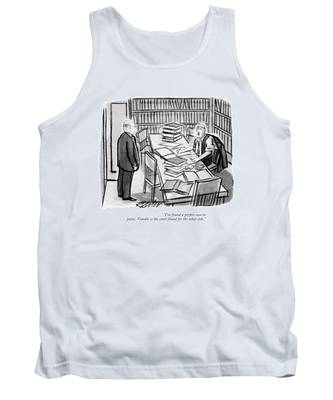 I've Found A Perfect Case In Point. Trouble Tank Top