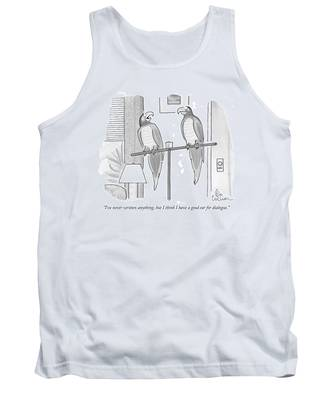 I've Never Written Anything Tank Top