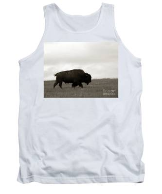 Lone Bison Tank Top