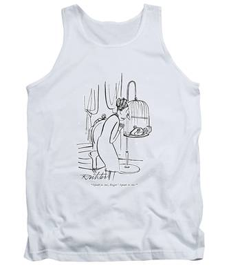 Speak Tank Top