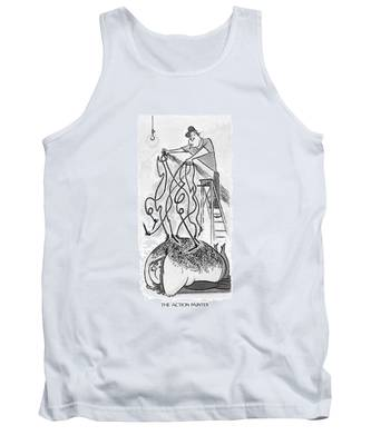 The Action Painter Tank Top