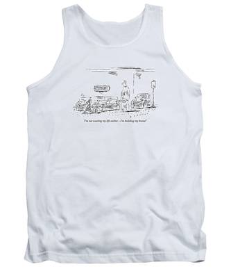 The Daughter Claims She Is Building Her Brand Tank Top