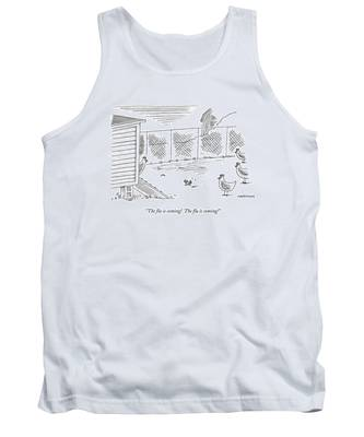 The Flu Is Coming!  The Flu Is Coming! Tank Top
