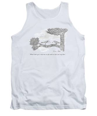 Once We Fly South Tank Top
