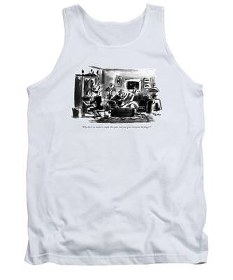 Why Don't We Make It Simple This Year Tank Top