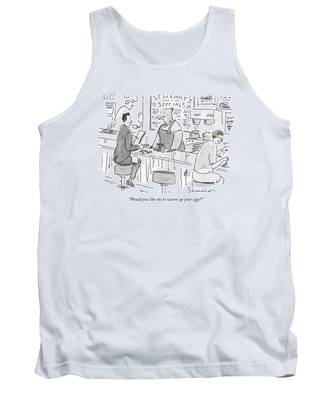 Would You Like Me To Warm Up Your Eggs? Tank Top