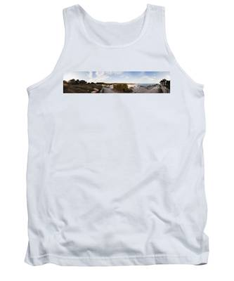 Access To The Beach Of Es Trenc Tank Top