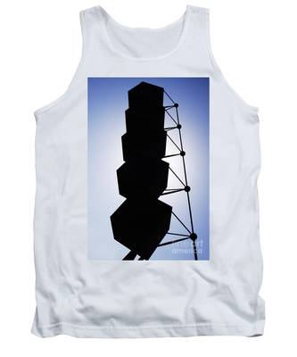 Backlight Structure Tank Top