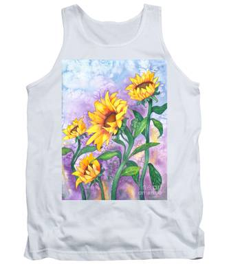 Sunny Sunflowers Tank Top