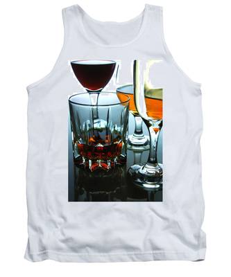 Wine Tank Tops